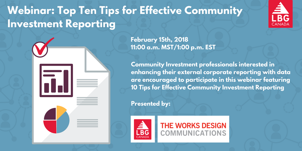 the webinar will include key reporting trends with examples of best in class reports backed by the use of salient data