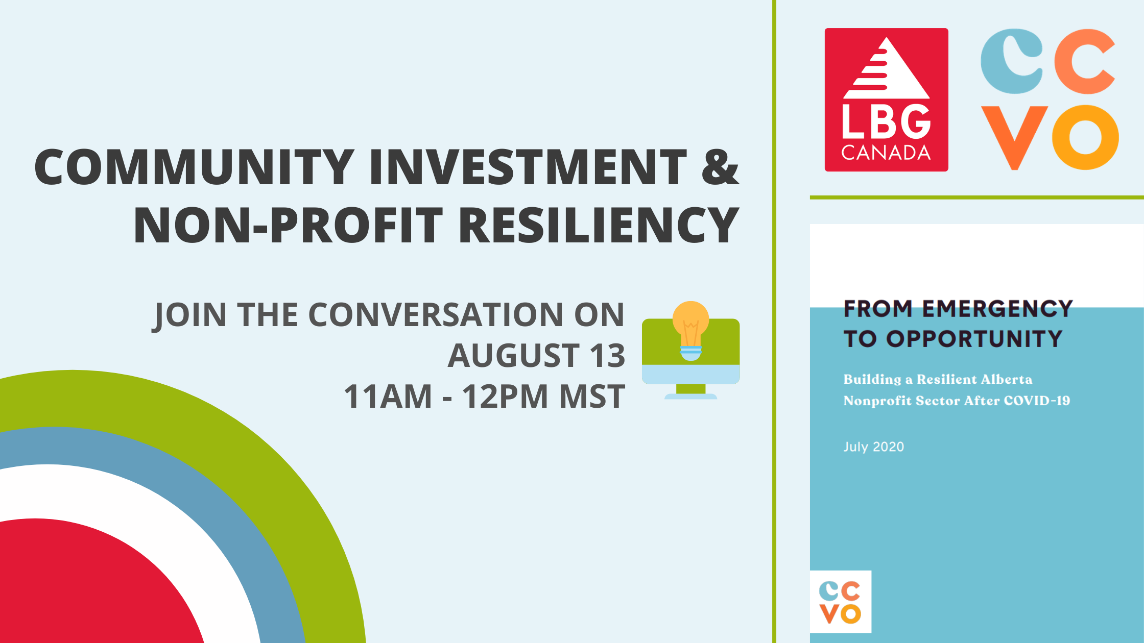LBG Canada And CCVO Coming Together For Conversation On Community Investment