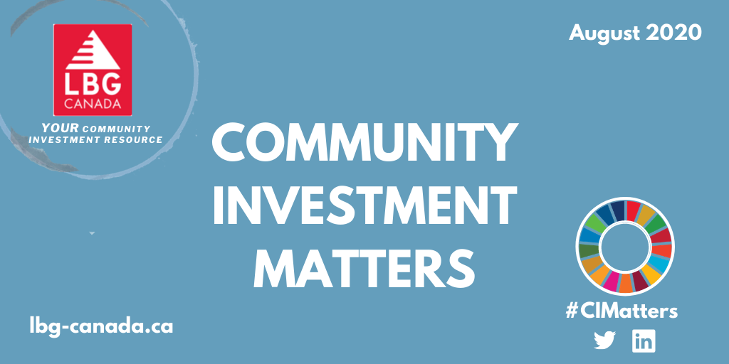 Social Value Matters Conference, Upcoming Webinars And More LBG Canada News